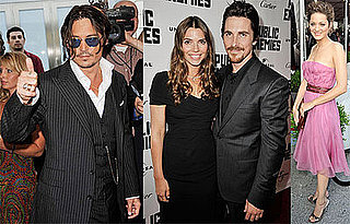 Photos of Johnny Depp, Christian Bale, Marion Cotillard at Public Enemies Premiere in Chicago