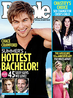 Photos of Chace Crawford, Robert Pattinson, Shia LaBeouf Who Are On People's Hottest Bachelors List