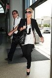 Jessica Simpson at LAX