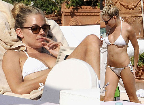 Bikini Photos of Sienna Miller in Positano, Italy