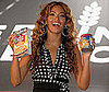 Photo Slide of Beyonce Knowles Launching the The Feeding America Show Your Helping Hand Campaign