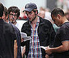 Photo Slide of Robert Pattinson Filming Remember Me in NYC 2009-06-24 11:45:00