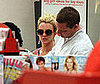 Photo Slide of Britney Spears Shopping at a Target in Calabasas