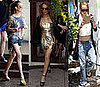 Photos of Lindsay Lohan in LA, En Route to Transformers 2 Premiere