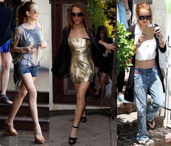 Lindsay Lohan in LA