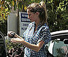 Photo Slide of Pregnant Gisele Bundchen Visiting a Chiropractor's Office in LA