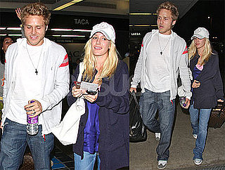 Photos of Heidi Montag and Spencer Pratt on Their Way Back to I'm A Celebrity Get Me Out of Here