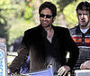 Photo Slide of David Duchovny Filming Californication