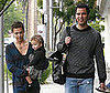 Photo Slide of Jessica Alba and Cash Warren Celebrating Father&#039;s Day with their Daughter Honor Warren