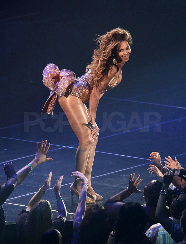 Beyonce and Jay-Z on Stage