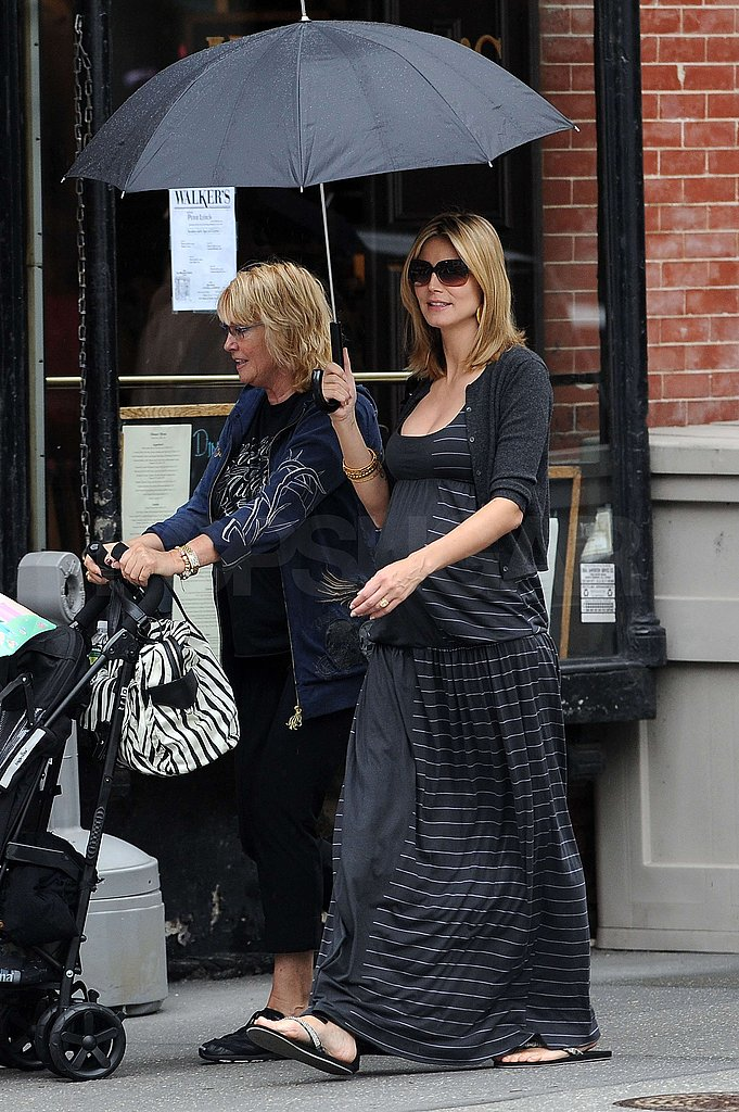 Heidi Klum With the Kids in NYC