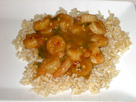 ... Recipe: Stir-Fried Shrimp With Spicy Orange Sauce | POPSUGAR Fitness