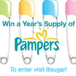 Win a Year's Supply of Pampers