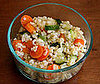 Add Chopped Veggies to Your Cooked Grains