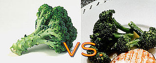 Raw vs. Cooked: Veggie Edition