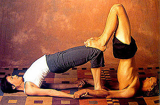 Partner Yoga Pose: Double Bridge
