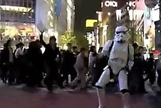 There's No Stoppin' the Tokyo Dance Trooper!