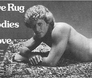 Seventies Love Rug Advertisement