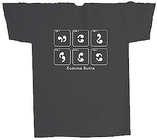 Product of the Day: Comma Sutra T-Shirt