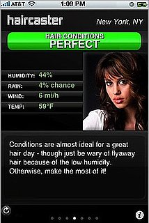Haircaster iPhone App Predicts How Hair-Friendly the Weather Is
