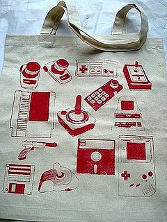 Keep Your Goodies on You With the Vintage Geek Tote