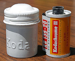 Vintage Kodak Film Canisters Made of Aluminum