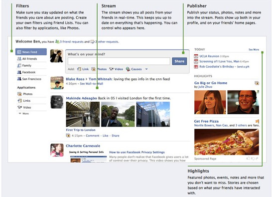 The New Facebook Redesign Has Launched