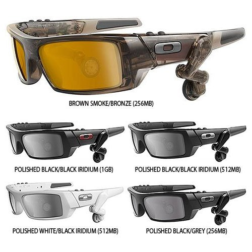 Oakley MP3 Player Sunglasses