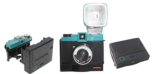 Diana Instant Back+ Attaches to Diana Lomography Camera and Creates Instant Photos Like Polaroid