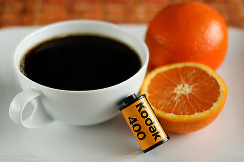You Can Develop Film With Coffee and Vitamin C