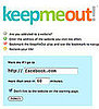 KeepMeOut Tells You When to Stop Wasting Time on a Website