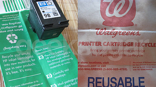 Two Ways to Recycle Empty Printer Ink Cartridges