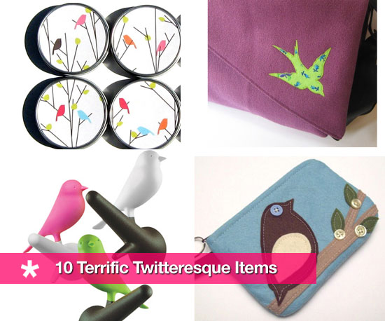 Ten Twitter Items and Products