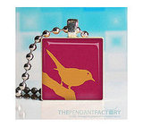 Swallow Scrabble Tile Pendant