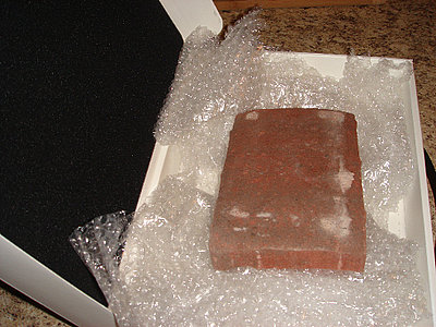 Man Buys Brick Instead of Laptop