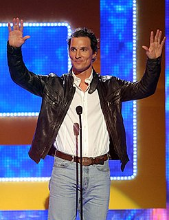 Matthew McConaughey Won't Be Twittering Anytime Soon