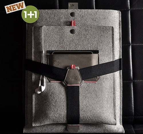 Hard Graft Debuts New High Collection Fleece and Leather Line of Laptop, Kindle, Camera and iPod Cases