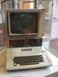 An Apple IIe