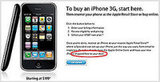 iPhone 3G Finally Available Online