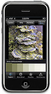 Benjamin Moore Launches Color-Paint-Matching iPhone App ben Color Capture