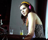 Daisy O'Dell Wears a Pair While DJing