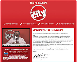 Circuit City Bought Out by Systemax Inc., Relaunching as Online Store