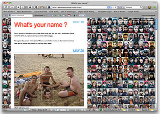 Website What's Your Name Encourages You to Identify People in Pictures