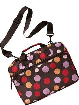 Gap Polka-Dot Patterned Laptop Bag $13.65