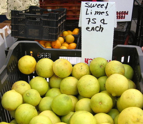 What Is a Sweet Lime?