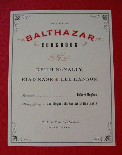 Cookbook Review: The Balthazar Cookbook