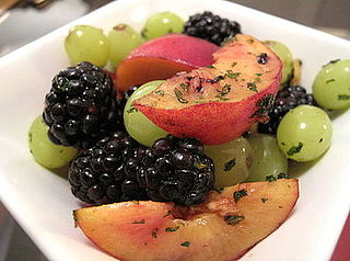 Fast & Easy Recipe For Summer Fruit Salad With Mint Sugar