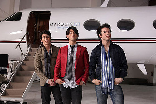 Jonas Brothers Jump on a Jet — We're Joining, Give Us Your Questions!