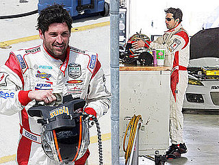 Photos of Patrick Dempsey Racing Cars at the Miami Speedway in Florida
