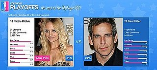 PopSugar 100 Neck and Neck: Nicole Richie and Ben Stiller